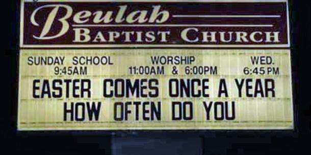 Funny Church Signs 12 Rugbyoldbloke Blog